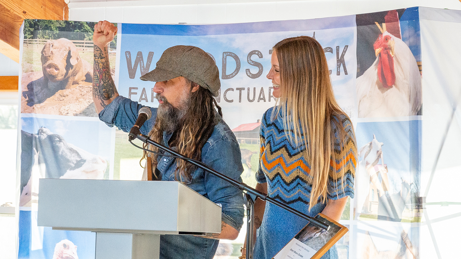 Rob Zombie on Woodstock Warrior Award, Fighting for Animals, Why Veganism Is Punk | Revolver