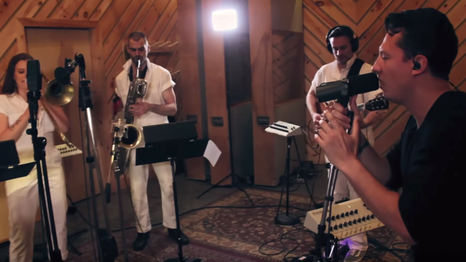 """See Brass Against's Intense Big-Band Cover of Tool's """"Ænema"""""""