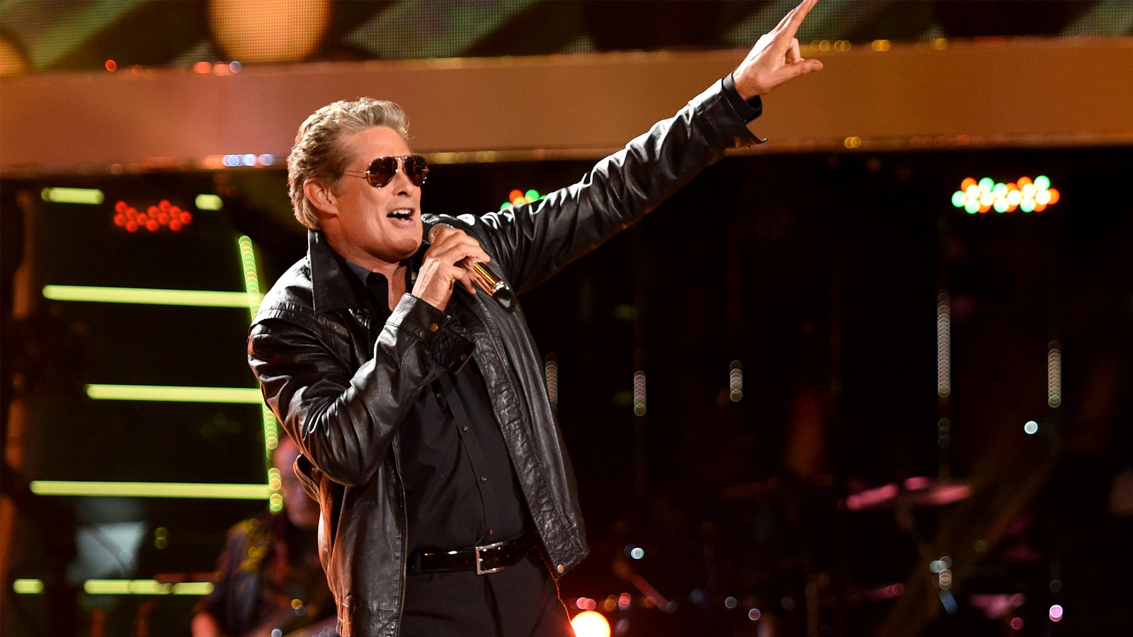 """David Hasselhoff Recording """"Some Heavy Metal Songs"""" for New Album"""