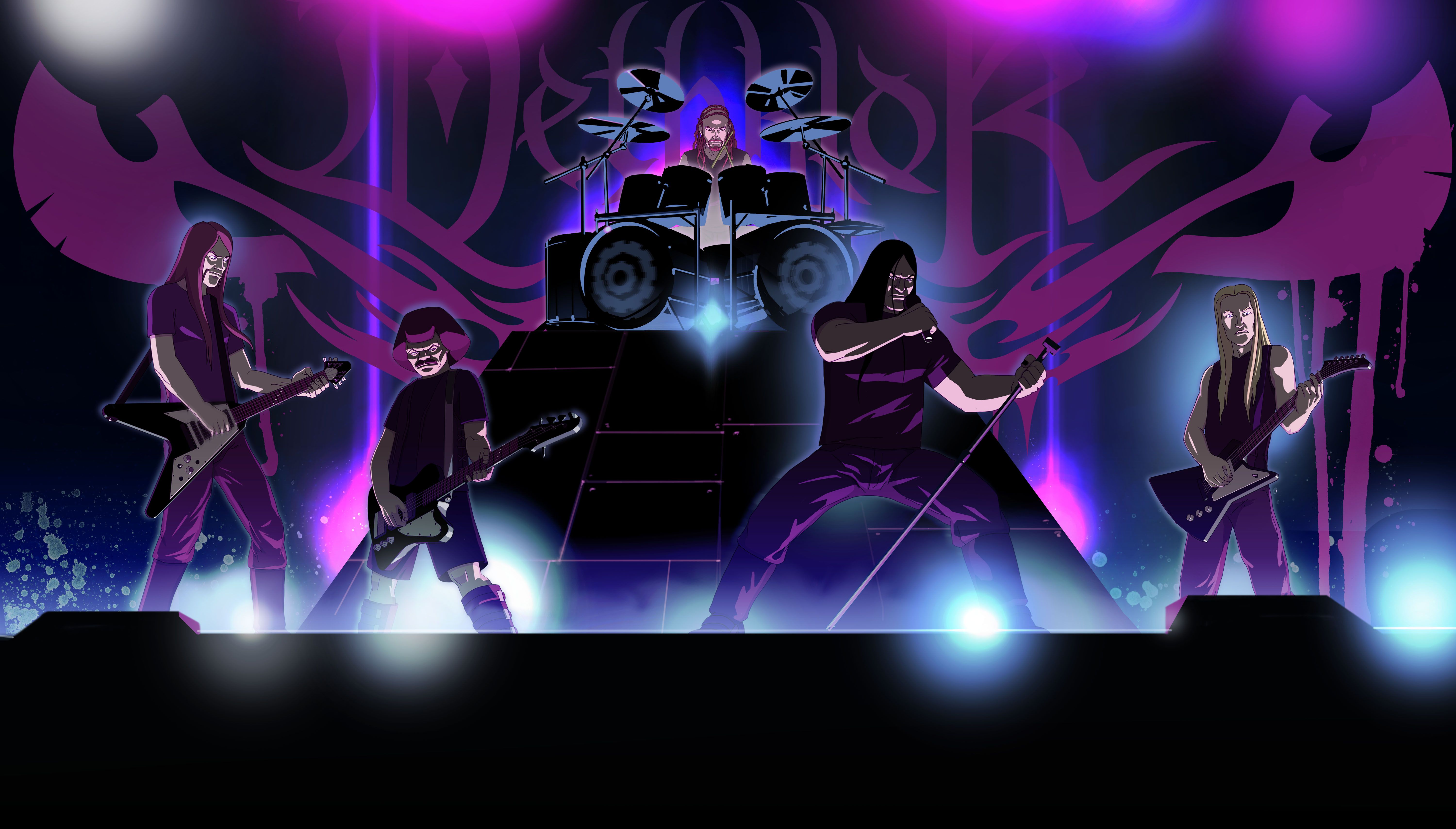 Dethklok to Play First Show in 5 Years at Adult Swim Festival 2019