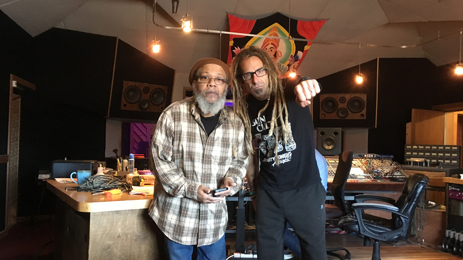 """Hear Lamb of God's Randy Blythe Team With Lee """"Scratch"""" Perry, Bad Brains' Dr. Know, More on New Saudade Song"""