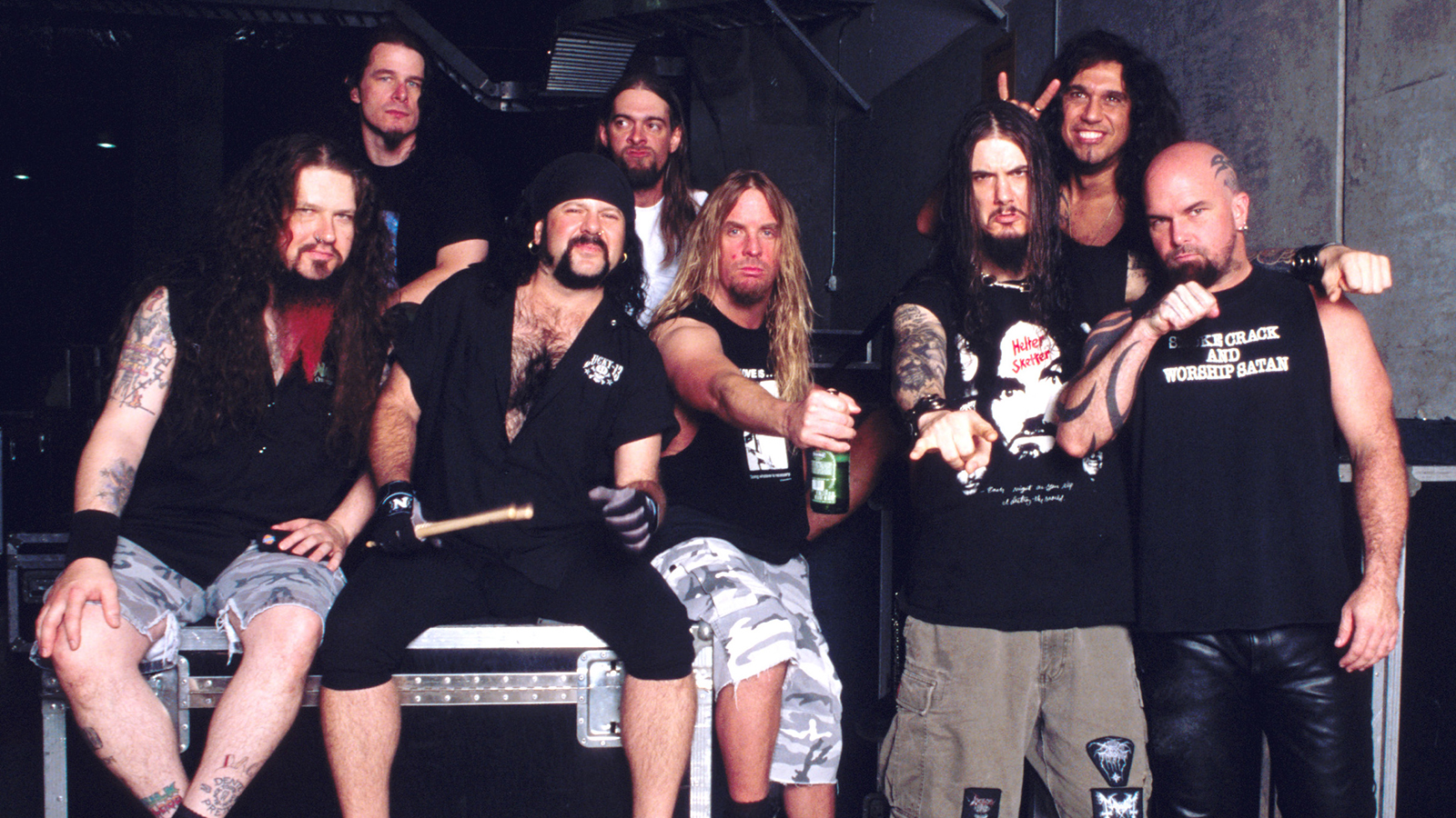 How Pantera Inspired Slayer to Title Their 2001 Album 'God Hates Us All'