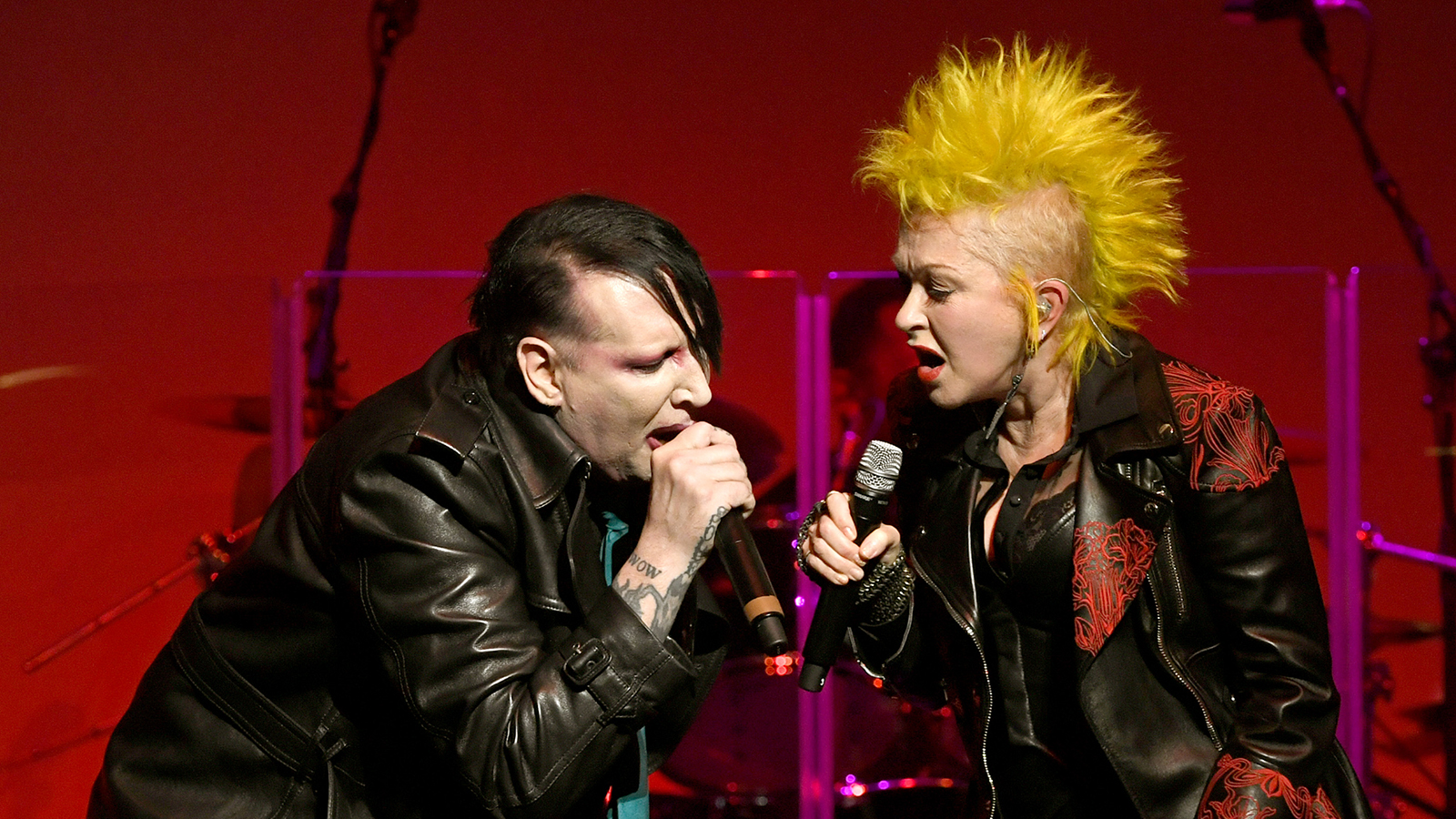 See Cyndi Lauper Duet With Marilyn Manson, Henry Rollins at Benefit Gig
