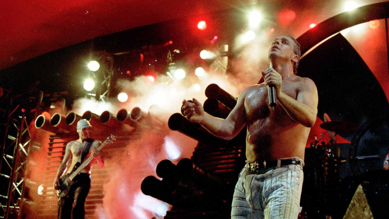 See Rammstein's Infamous 1998 Family Values Show That Landed Members in Jail
