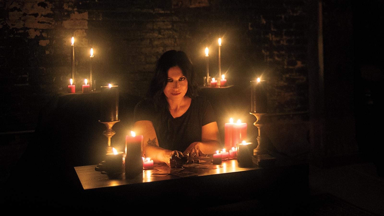 Lacuna Coil's Cristina Scabbia Gets Tarot Reading, Talks Parents' Death, Band's Future
