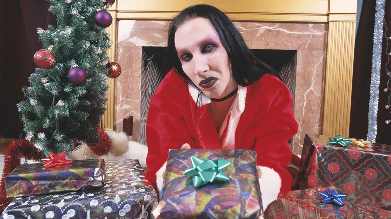 "Hear Insane Marilyn Manson-Mariah Carey Mashup ""All I Want for Christmas Is the Beautiful People"""