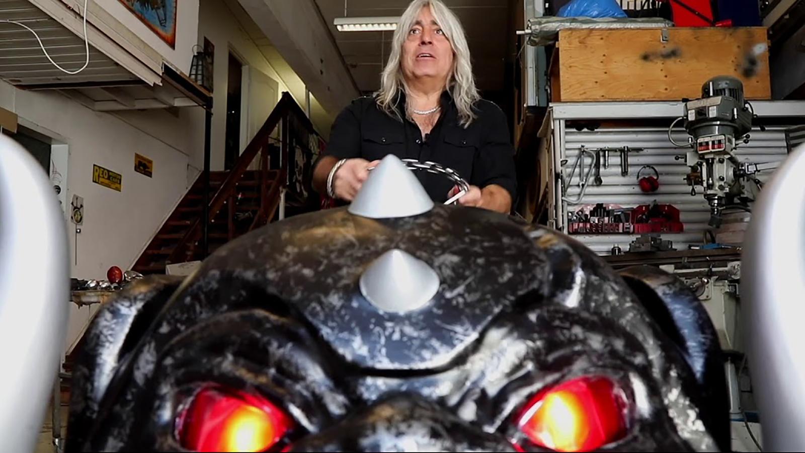 See Motörhead's Mikkey Dee Create Ultra-Pimped Snaggletooth Lawnmower