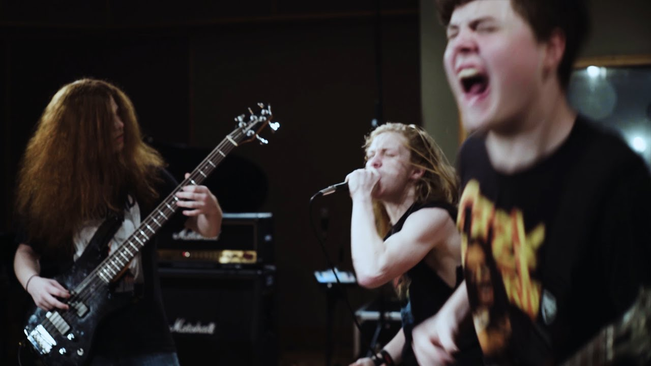 """See O'Keefe Foundation Kids' Awesome Cover of Pantera's """"I'm Broken"""""""