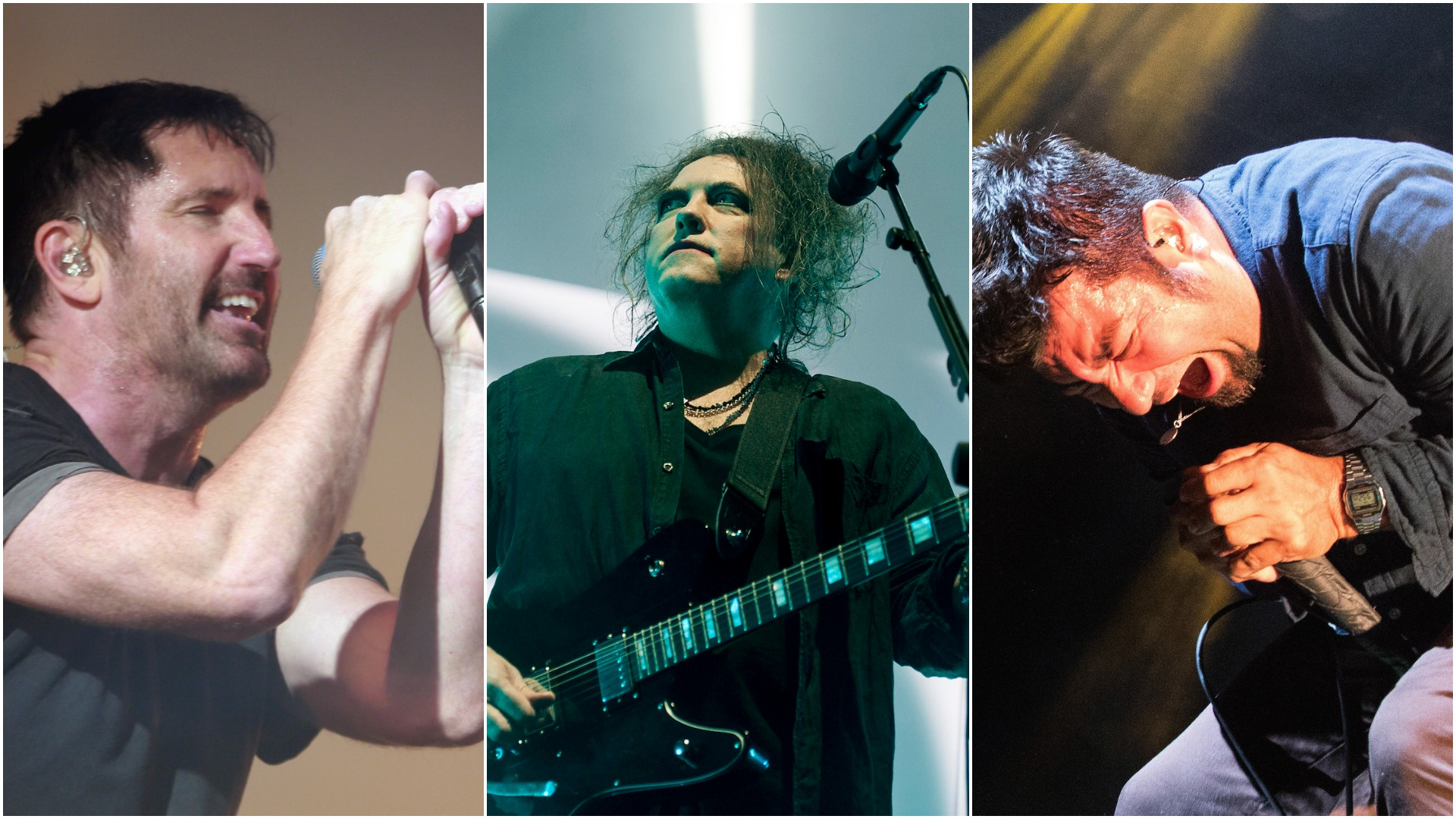 The Cures Robert Smith Enlists Nine Inch Nails Deftones