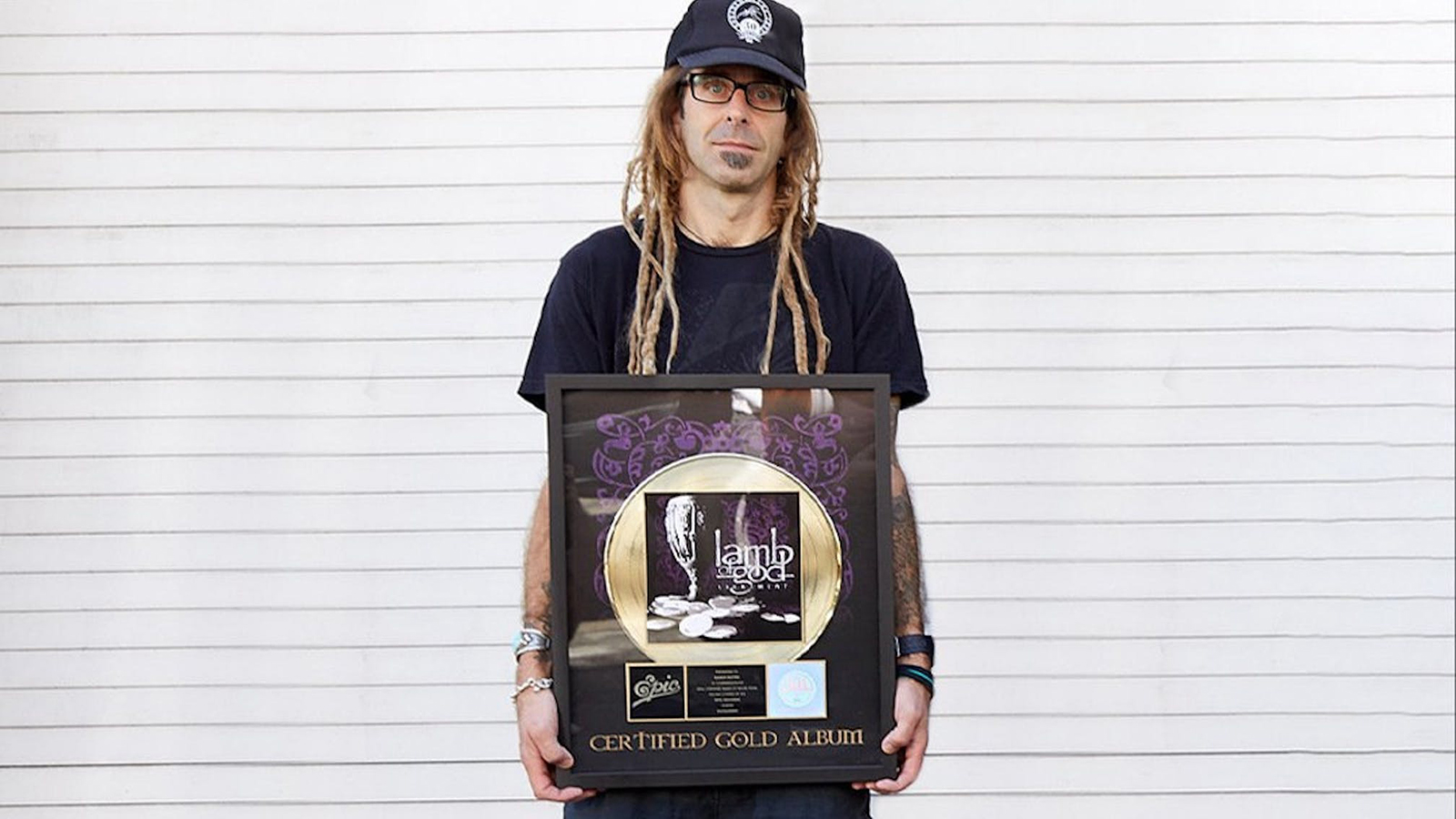 Lamb of God's Randy Blythe Auctioning Gold Record, Handwritten Lyrics for Charity
