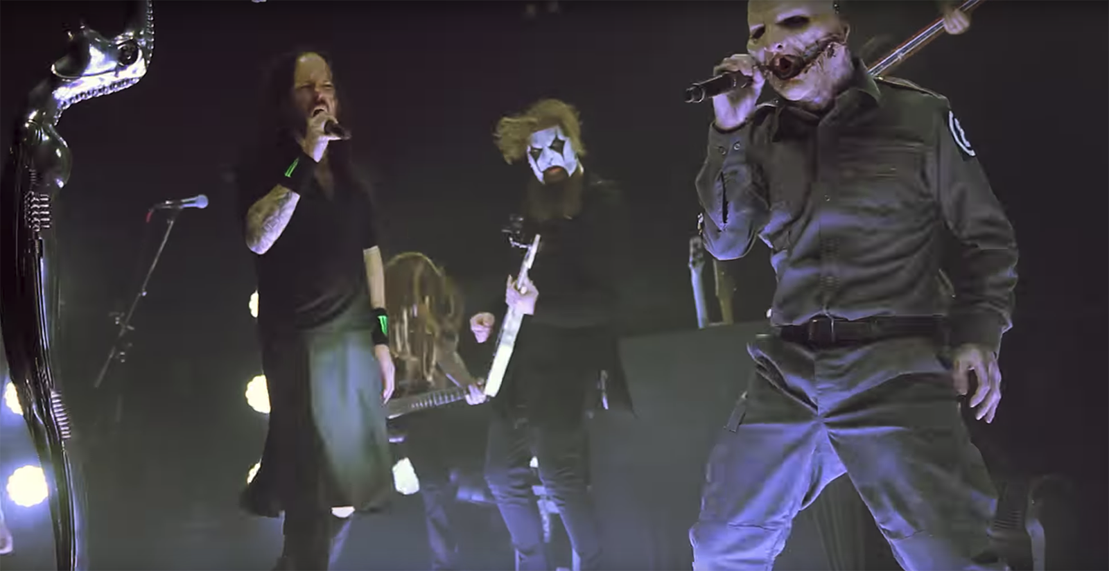 "Watch Slipknot and Korn's Insane Live Cover of Beastie Boys' ""Sabotage"""