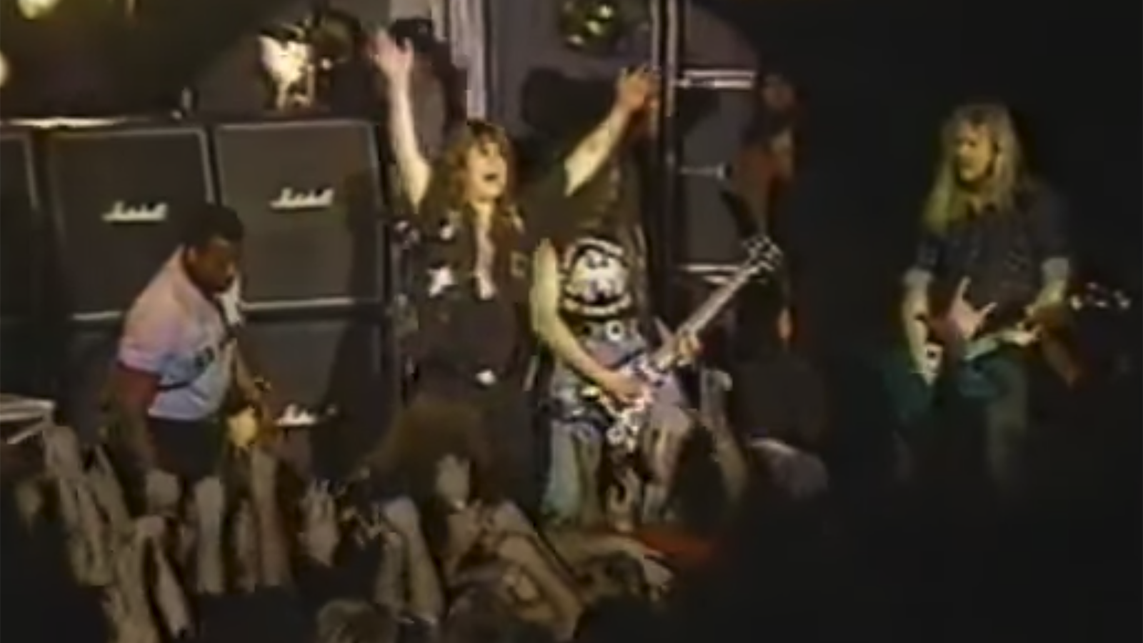 """See Faith No More Play Raucous """"War Pigs"""" With Ozzy and James Hetfield in 1990"""