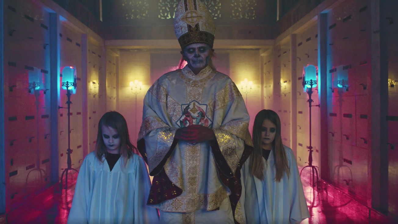 see ghost tease new papa emeritus unveiling in creepy  u0026quot new