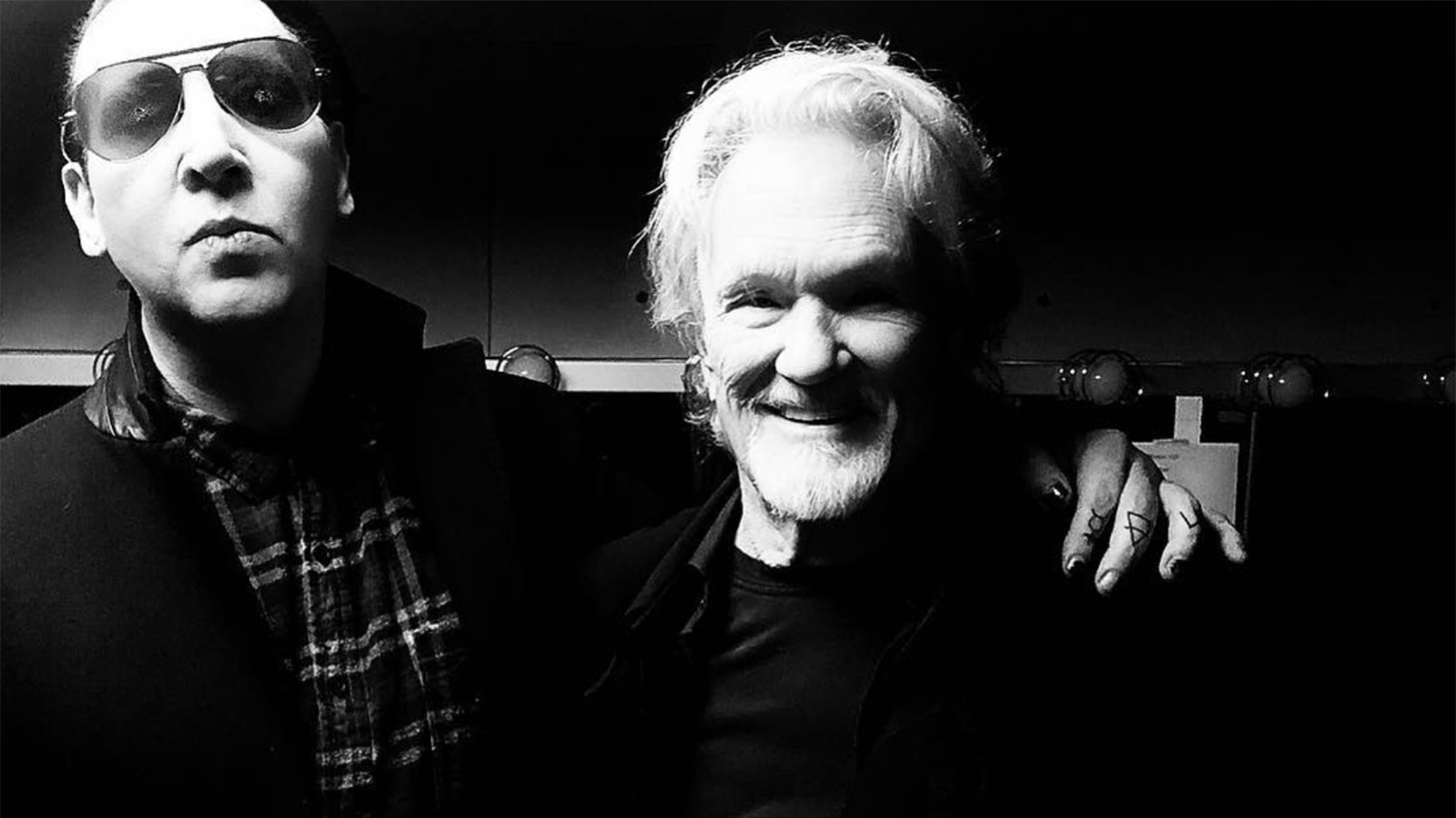 See Marilyn Manson Join Kris Kristofferson for Country-Gospel Sing-Along