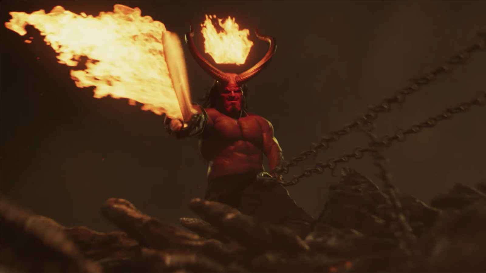 See Insane New 'Hellboy' Red-Band Trailer Featuring Symphonic Deep Purple Cover