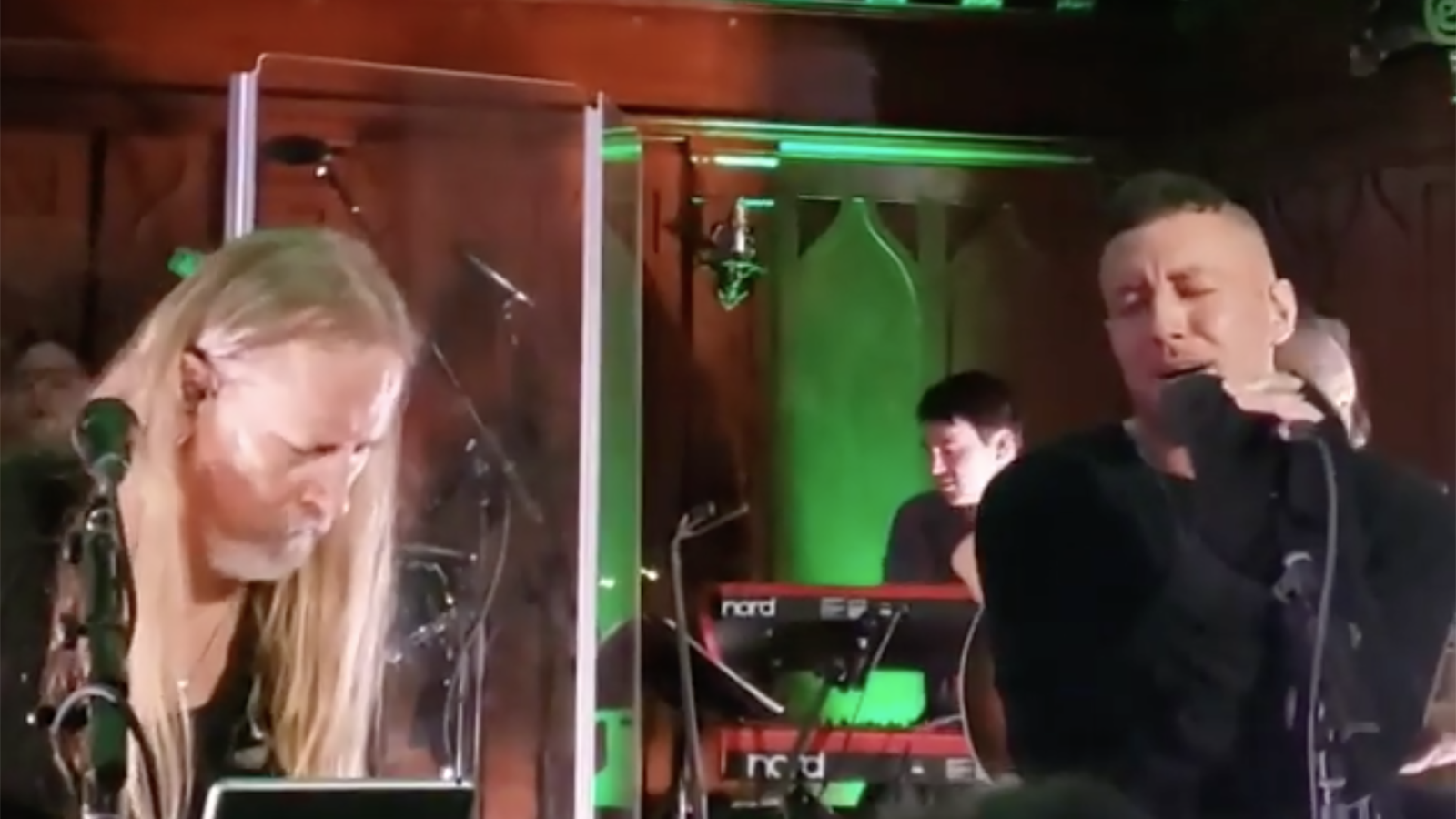 See Jerry Cantrell Play Alice in Chains Songs With Greg Puciato at Solo Show