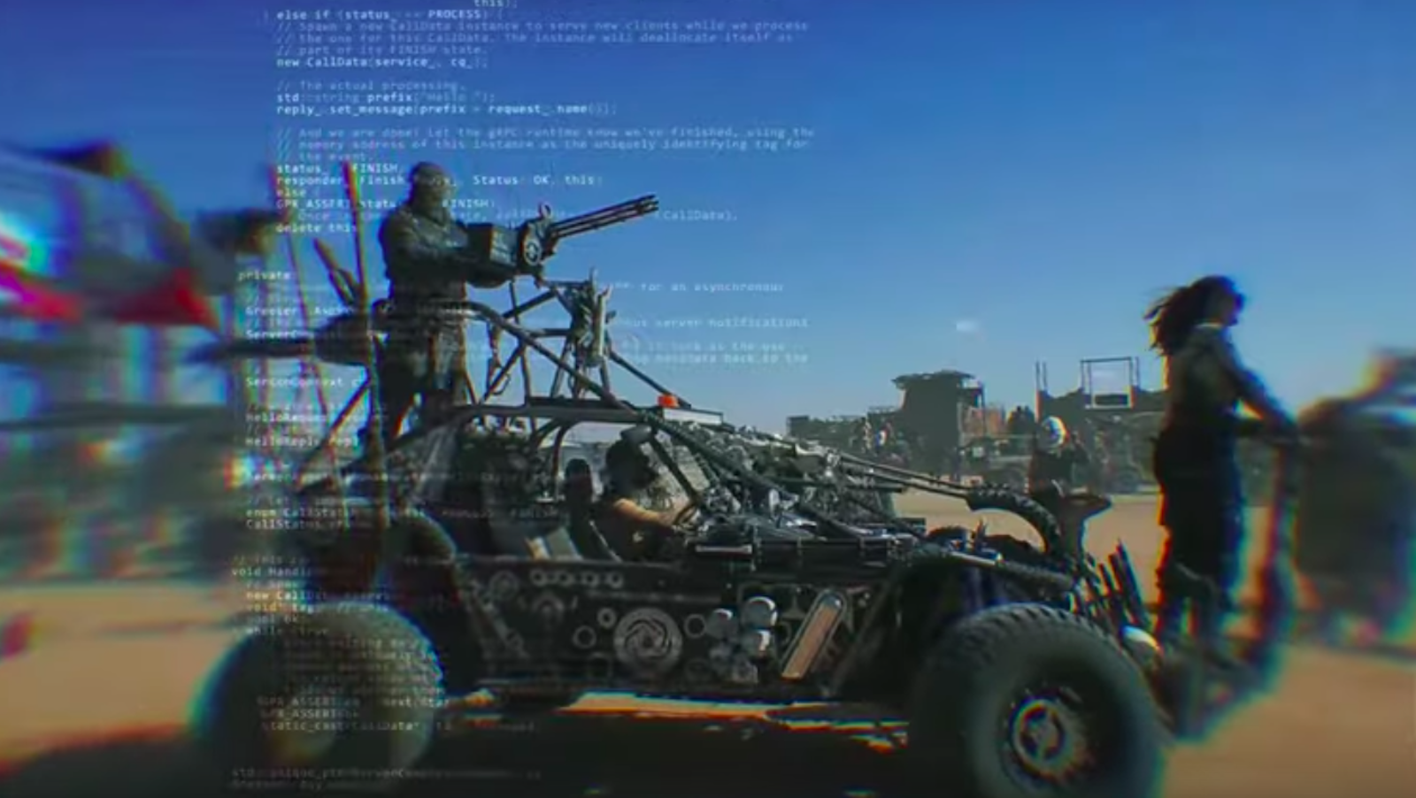 """See 3TEETH Rumble Through 'Mad Max' Wasteland in New """"Altær"""" Video"""