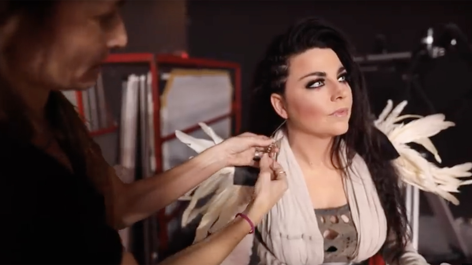 """The Making of Evanescence's """"The Chain"""" Video: Go Behind the Scenes"""