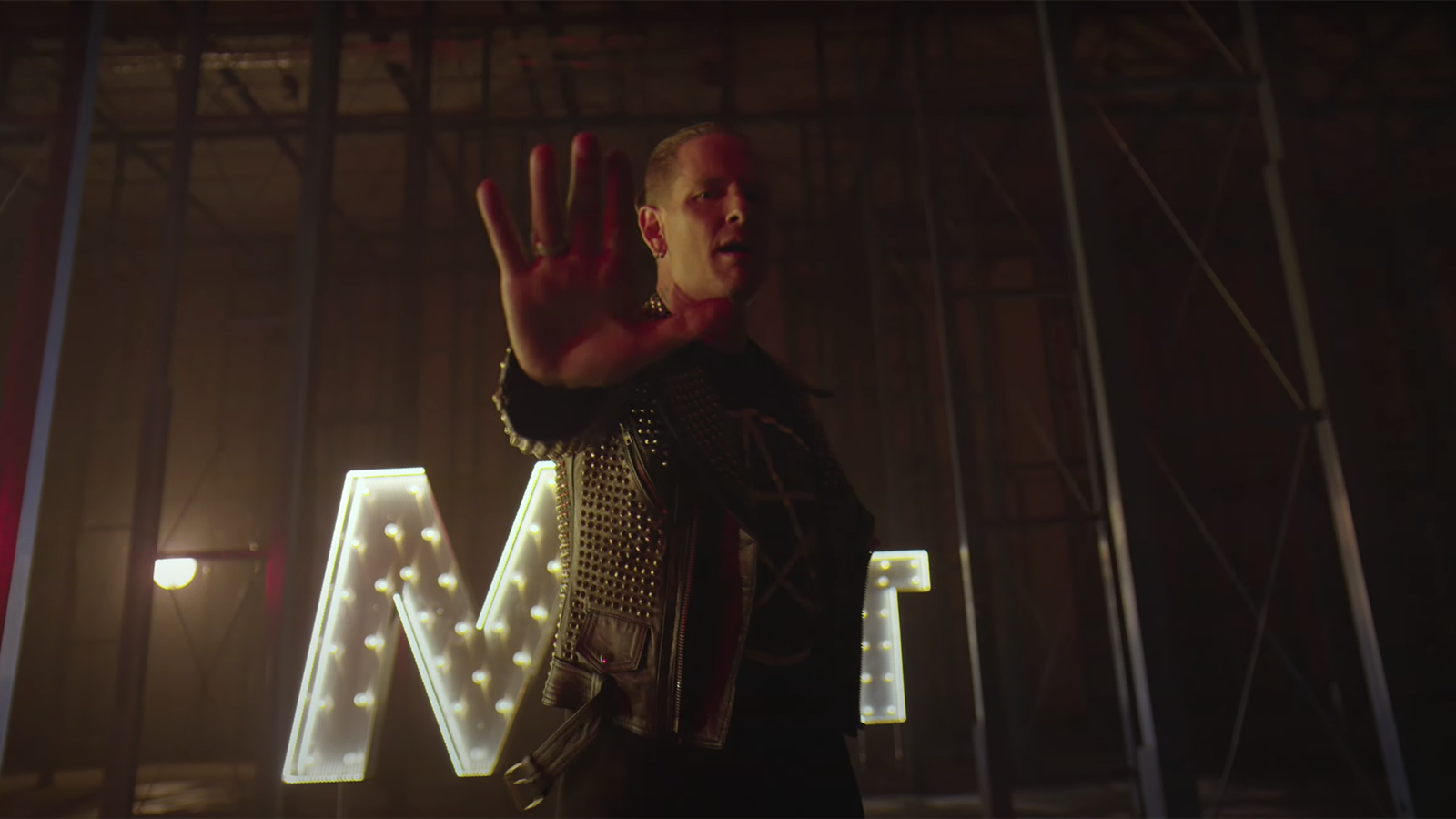 "See Corey Taylor's Rowdy, Star-Studded Video for New Solo Song ""CMFT Must Be Stopped"""