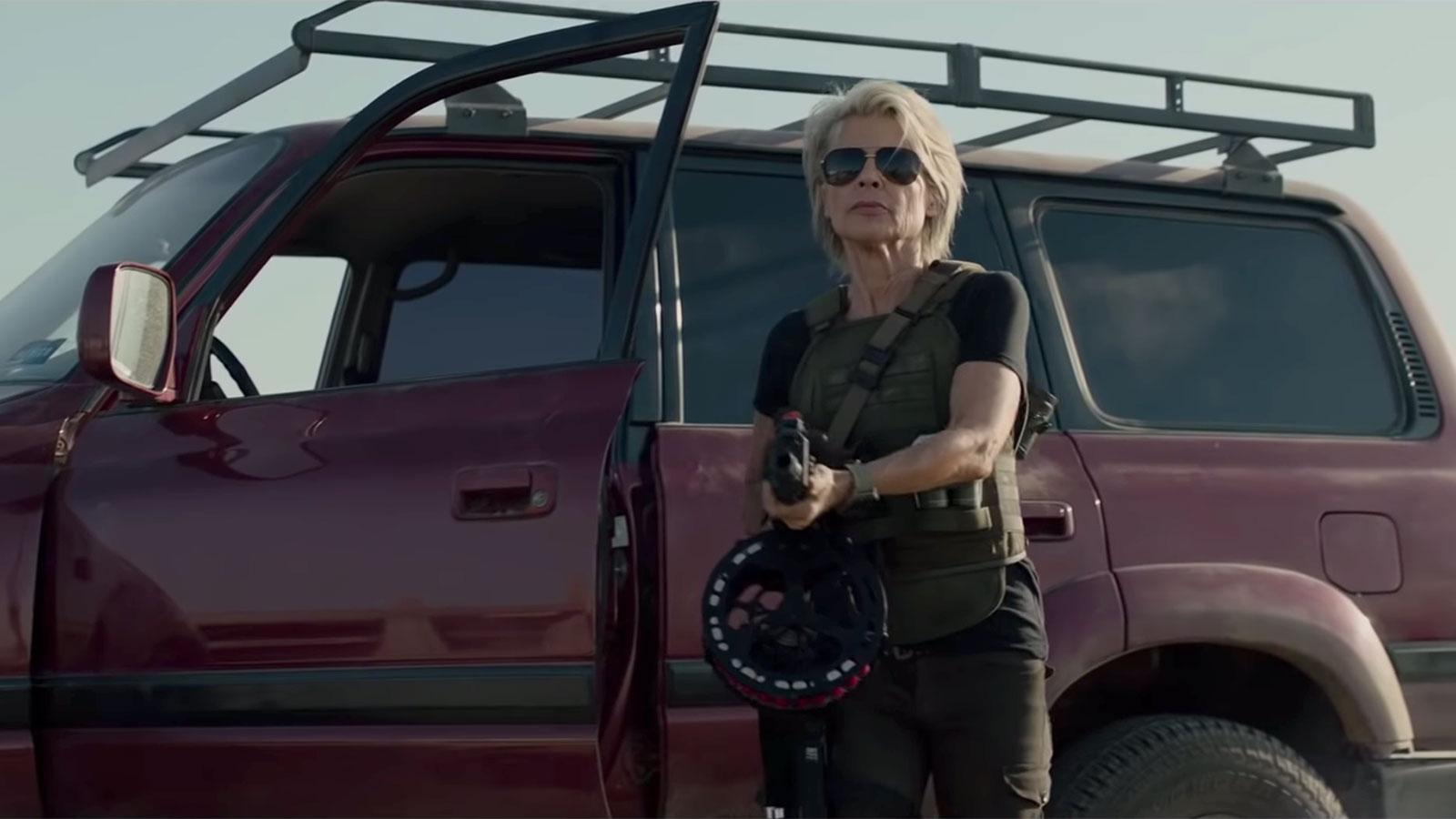 'Terminator: Dark Fate': See Linda Hamilton, Schwarzenegger Return in New Trailer