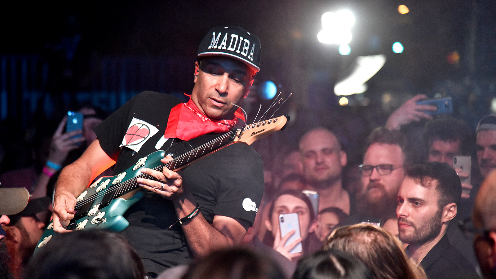 Watch Tom Morello Toss Fan's Phone Into Crowd During Illinois Performance