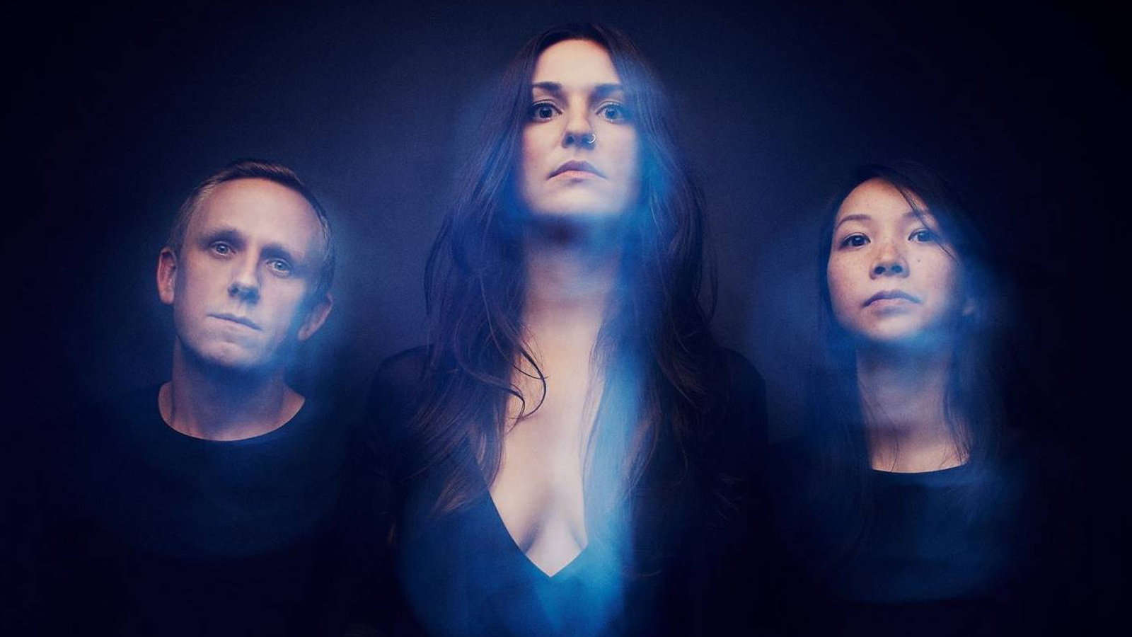 "See Brooklyn Shoegaze-Doom Trio Vaureen's Trippy New ""Stare Into the Sun"" Video"
