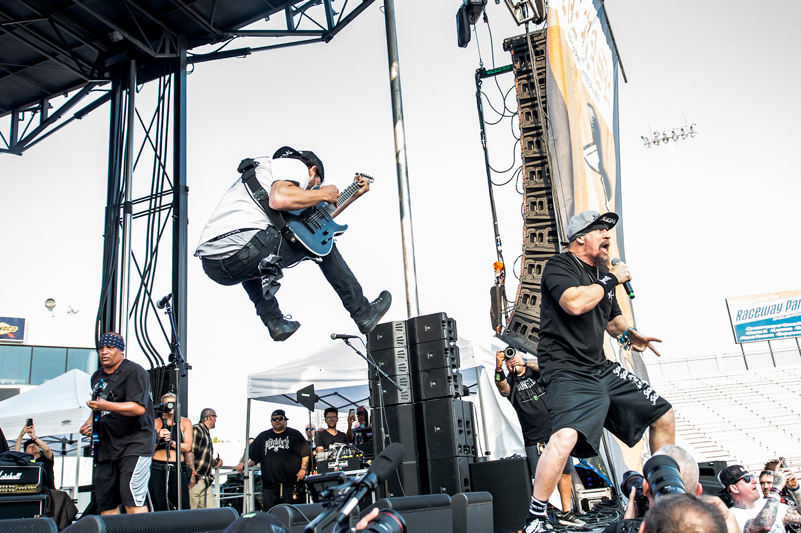 Suicidal Tendencies at The Bash: See Wild Photos of Mike Muir and Co. in Jersey