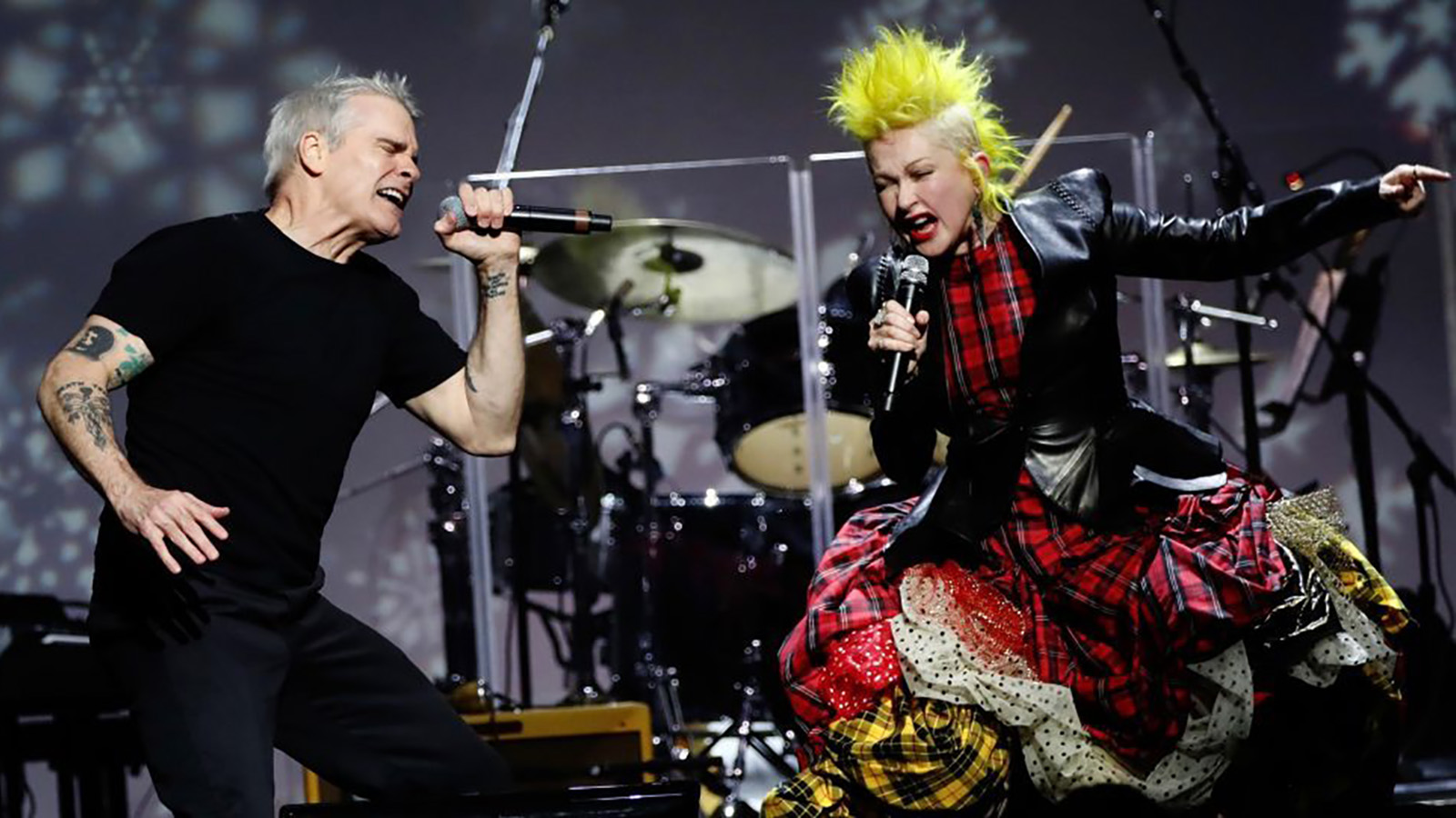 See Cyndi Lauper Duet With Marilyn Manson, Henry Rollins at Benefit Show