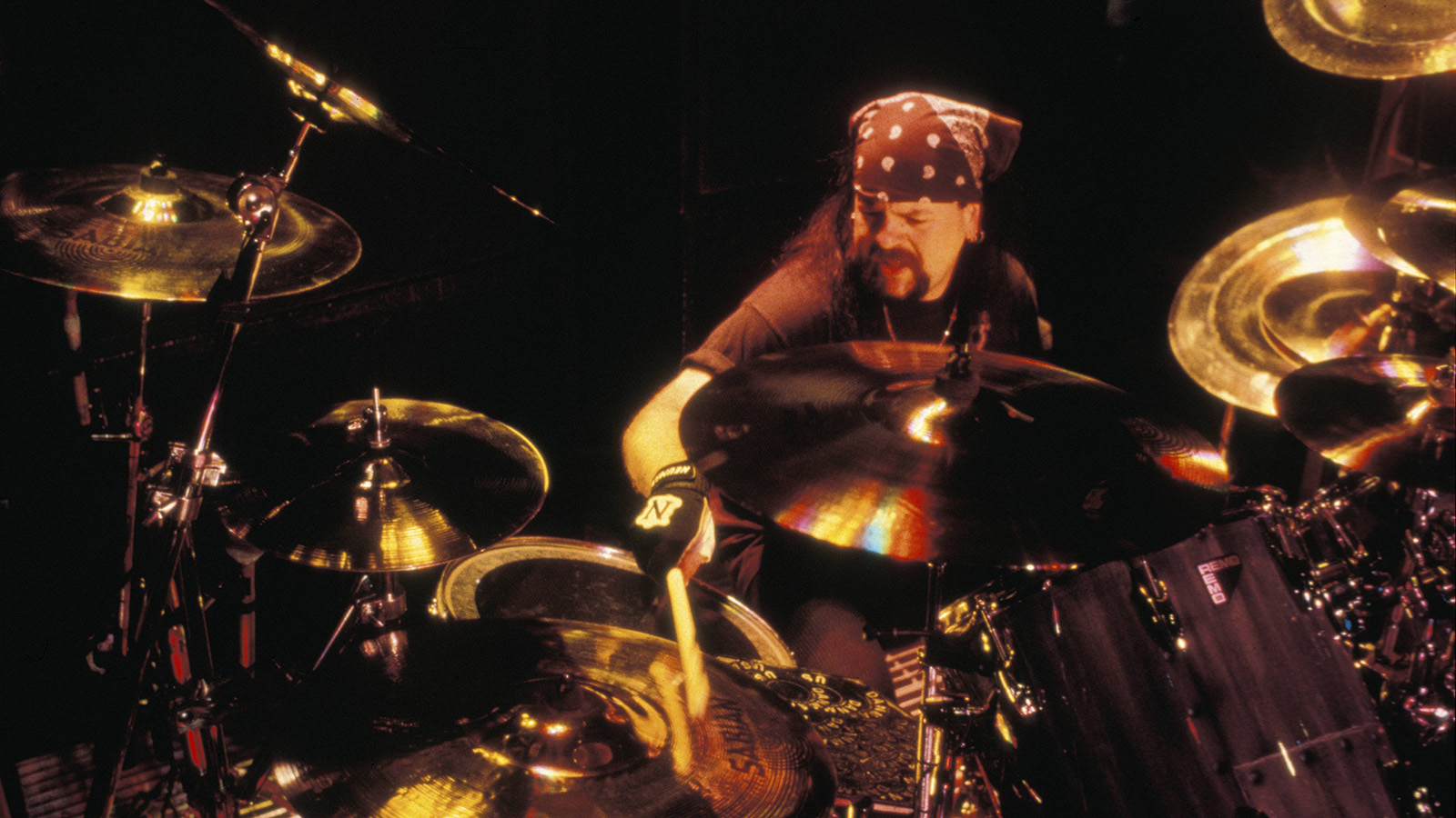 Pantera Drummer Vinnie Paul's Memorial Marker Placed at Texas Grave Site