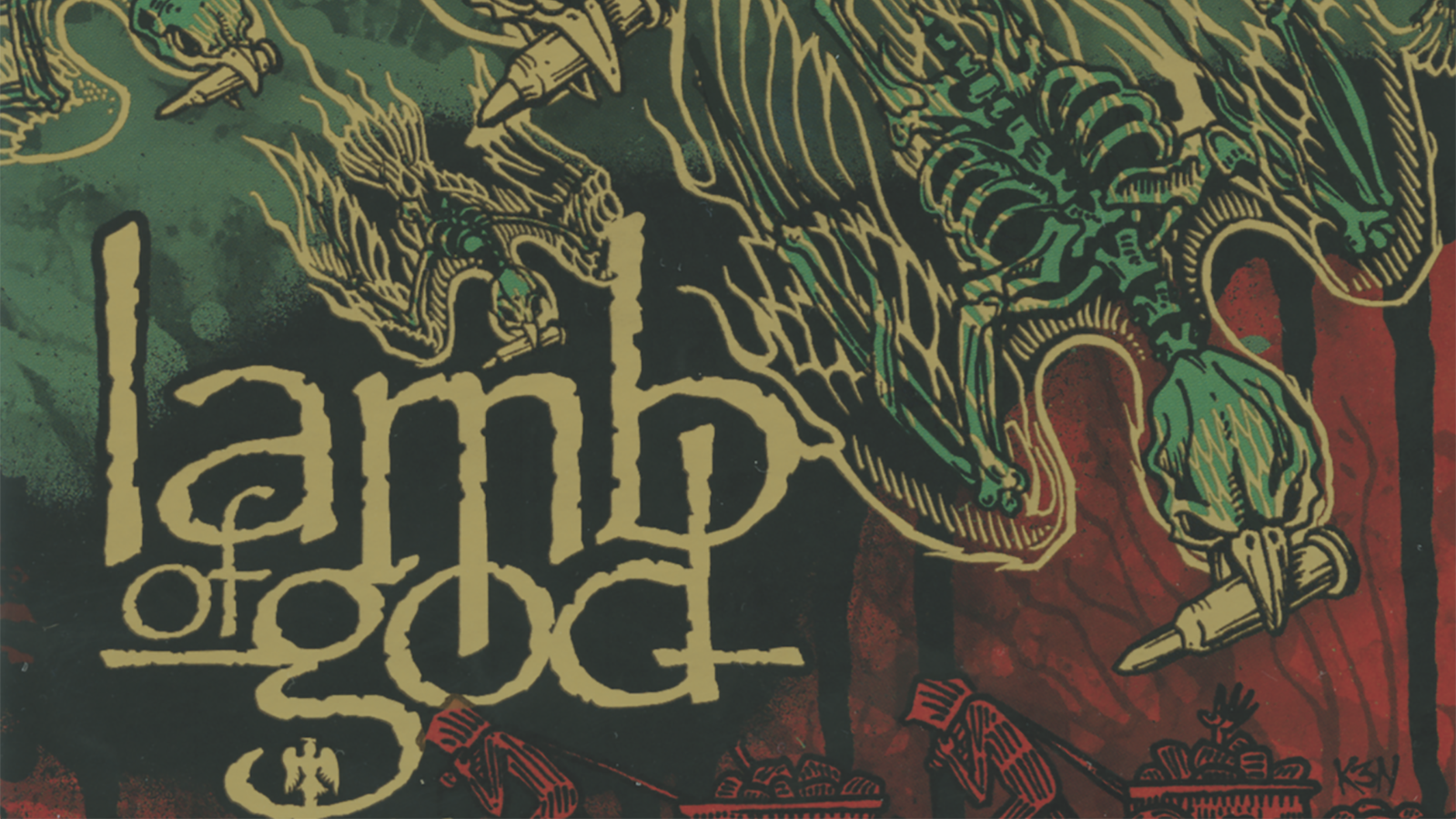 Lamb Of God S Ashes Of The Wake The Story Behind The Cover Art Revolver