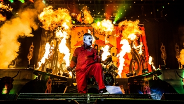 slipknot 2012 GETTY, Chelsea Lauren/Getty Images