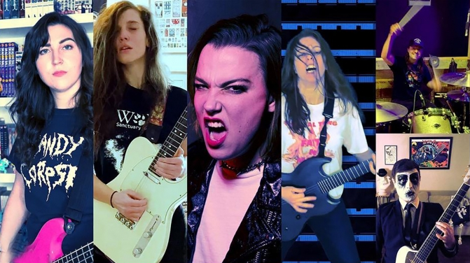 two minutes pantera cover