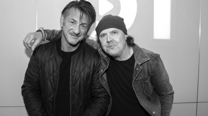 Lars Ulrich Sean Penn