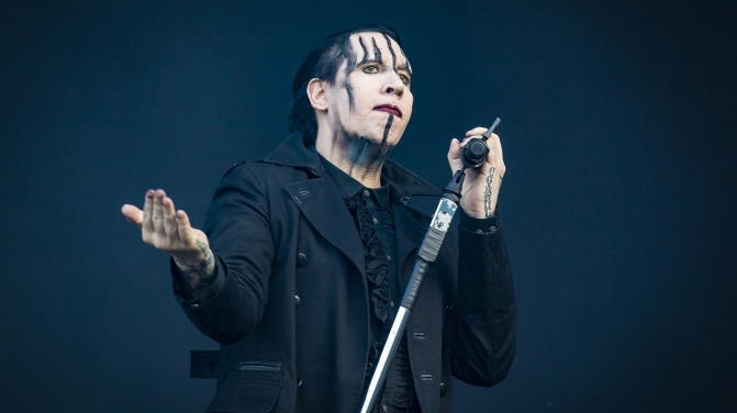marilyn manson GETTY 2018, Mark Horton/Getty Images
