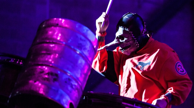 slipknot chris fehn GETTY, Chelsea Lauren/Getty Images