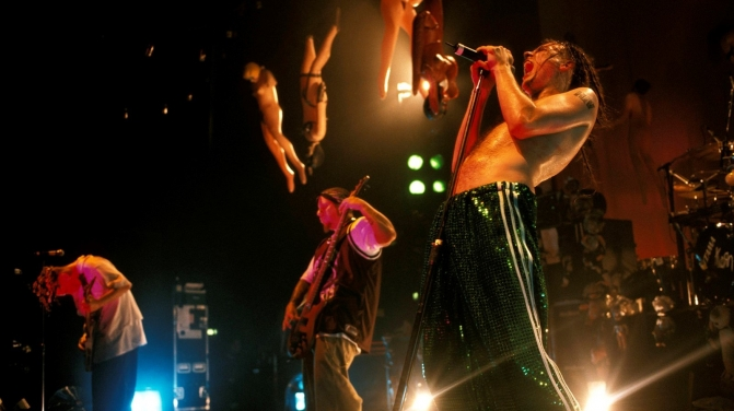 Korn live 1998 , Mick Hutson / Redferns