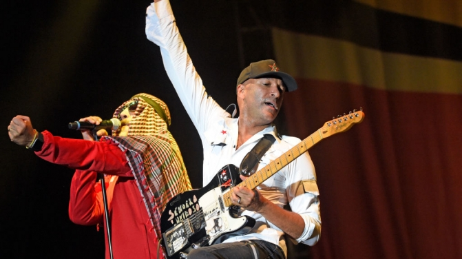 Prophets of Rage 2017 Getty, Prophets of Rages' [from left] B-Real and Tom Morello