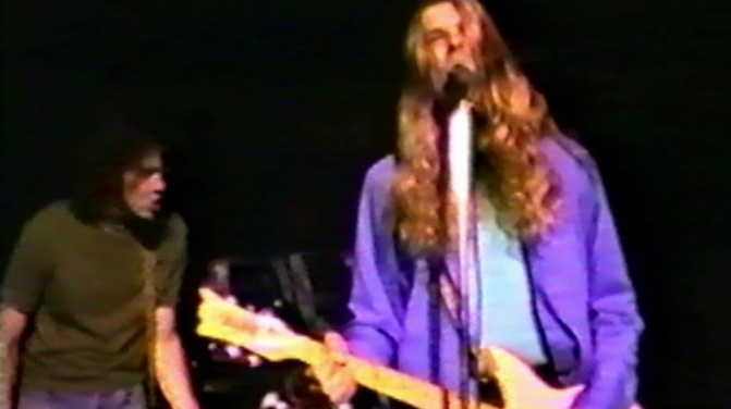 Nirvana Live 1989 flashback still