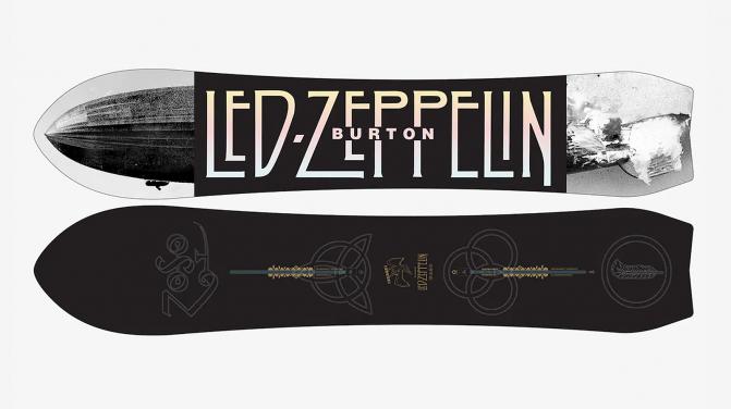 led zeppelin snowboard