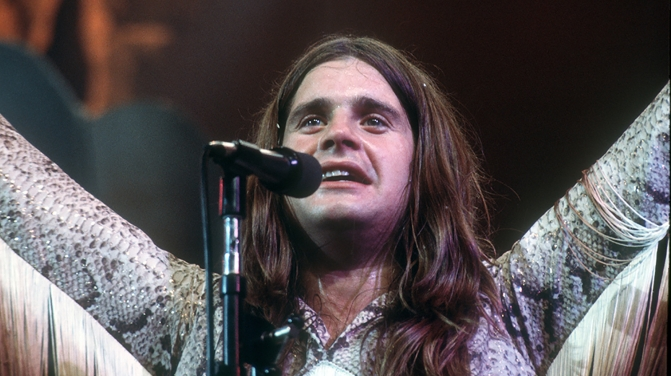 ozzy black sabbath 70s GETTY live