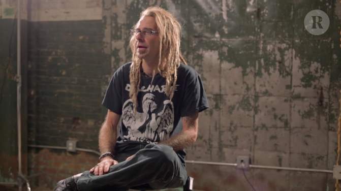 randy blythe cro-mags video still
