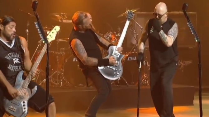 Metallica Rob Halford 2013 Golden Gods
