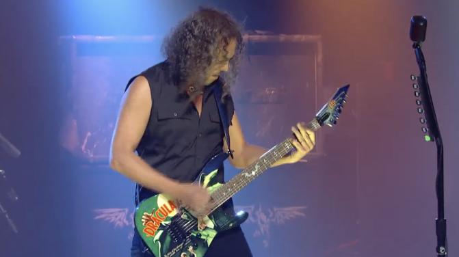 kirk Hammett golden gods screen shot
