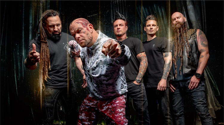 five finger death punch 2019 PRESS, Stephen Jensen