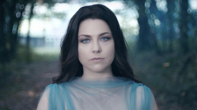 Amy lee evanescence blue sheer