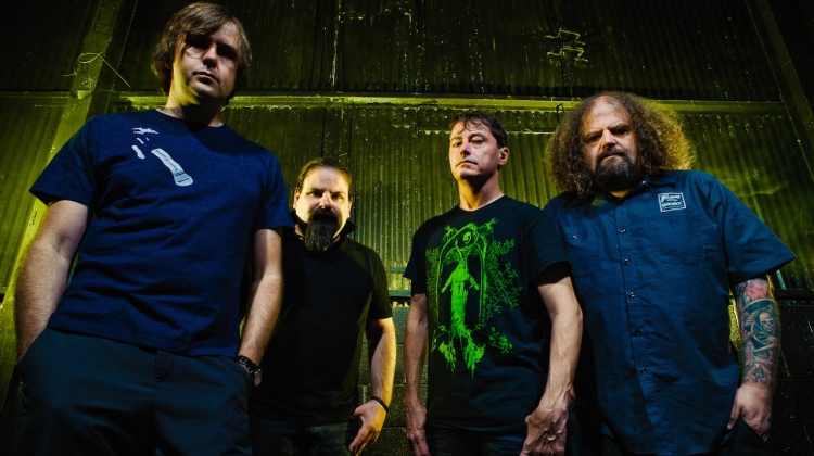 Napalm Death 2017 Press Photo, Kevin Estrada