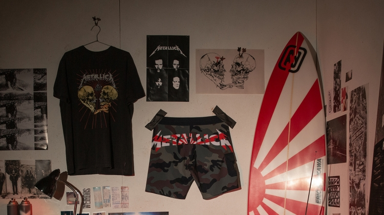 metallica billabong