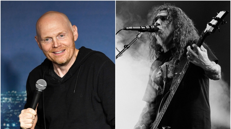 "Hear Comedian Bill Burr Rave Over Final Slayer Show: ""I Actually Got Chills"""