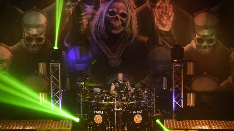 Charlie benante courtesy of anthrax press, Anthrax
