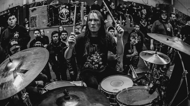 Creeping Death's Lincoln Mullins: How Dark Angel Made Me a Better Drummer